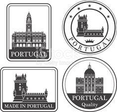 Portugal stok vektör sanatı 506398838 | iStock