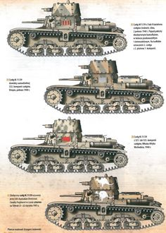 Axis Tanks and Combat Vehicles of World War II: History