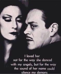 love, Morticia and Gomez style