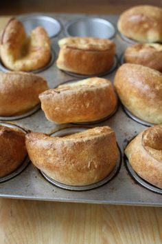 How to Make Popovers (in a muffin tin)