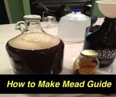 When I was starting out I could have really used a how to make mead guide, but everything was contradictory. I created my guide as a future reference for myself and anyone who wants to make mead. Cooking For A Group, New Cooking, Cooking Tips, Cooking Turkey, Cooking Classes, Mead Recipe, Recipe For 1, Champaign Bottle, Mead Wine