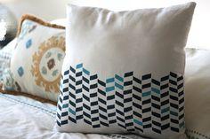 25 Easy decorative pillow tutorials (Make throw pillows)