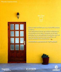 ¿Sabías que? Psicología del Color www.corev.mx