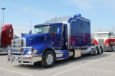 Kenworth Conventional with a Studio Sleeper