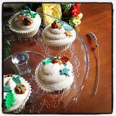 Los Cupcakes de Duckland: Autumn Cupcakes!! Calabaza y canela!