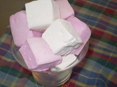 Vanilla Bean Marshmallows - 18 Pieces by Blue Ribbon Confections on Gourmly