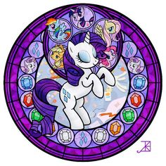 Rarity stained glass
