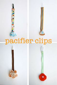 Excellent tutorial ~Ruffles And Stuff~: Pacifier Clip Tutorial!
