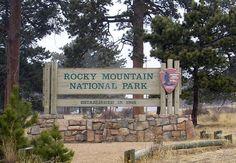Rocky Mountain National Park - Estes Park gateway