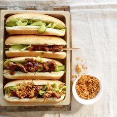 BBQ-Saté-Hotdog - lecker Ding