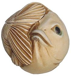 "Harmony Kingdom - Roly Polys ""Fats"" Fish Figurine. #HarmonyKingdom #Statue #Sculpture #Decor #Gift #gosstudio .★ We recommend Gift Shop: http://www.zazzle.com/vintagestylestudio ★"