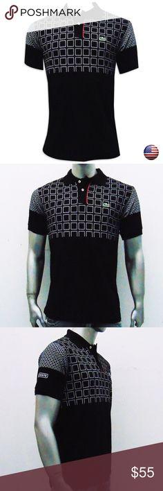 98d33dbfd8 Lacoste Men's Shirts Black Polo Lacoste Men's Shirts Black Polo M: Armpit  to armpit 19