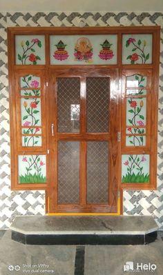 Wooden Main Door Design, Room Door Design, Wall Wardrobe Design, Window Glass Design, Model House Plan, Kids Bedroom Designs, House Elevation, Men Shirt, Room Doors