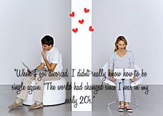 """""""When I got #divorced, I didn't really know how to be #single again. The #world had changed since I was in my early 20's."""" #quote #online #dating #love"""