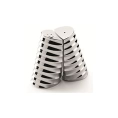 Robert Welch Drum Salt & Pepper Shaker Set (£38) ❤ liked on Polyvore featuring home, kitchen & dining, serveware, stainless steel serveware, robert welch, salt and pepper shakers, salt pepper shaker and stainless steel salt and pepper shakers