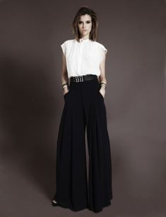 look pantalona preta - Pesquisa Google