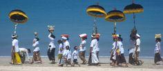Parade in Jimbaran beach, Bali. Photo by Mango Tree Villas