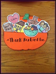 Easy Thanksgiving Crafts For Sunday School