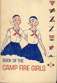 After Blue Birds you graduated up to Campfire Girls. Similar to Girl Scouts.