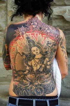 Oriental Tattoo by Little Swastika