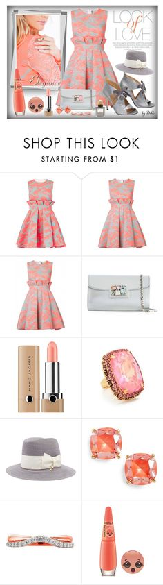 """""""Sem Título"""" by dehti ❤ liked on Polyvore featuring Vince, Nicholas Kirkwood, Casadei, Marc Jacobs, Elizabeth Cole, Kate Spade and Balmain"""