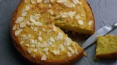 Gluten and dairy-free lemon or orange polenta cake