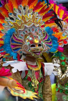 Masskara festival 2012,Bacolod City,Occidental,Phillippines