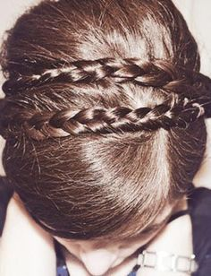 Why buy a headband when you can braid your own hair for the same effect?
