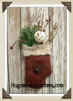 Primitive Country Christmas | Country Crafts and Primitive Country Decor