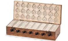 first pocket calculator . 17th century