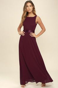 Special occasions call for That Special Something Wine Red Maxi Dress! Elegant chiffon fabric forms a sheer, sleeveless bodice with darting and a sultry, V-back. Satin sash ties at the waist above a cascading maxi skirt. Hidden back zipper/clasp.