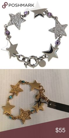 Gold Marc By Marc Jacobs Bracelet Marc by Marc Jacobs Traveling Stars Bracelet in gold. Marc by Marc Jacobs Jewelry Bracelets