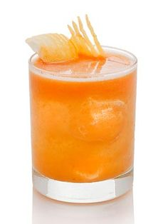 Here's a little something to mix up while you're cooking: a cocktail called the Candied Yam!
