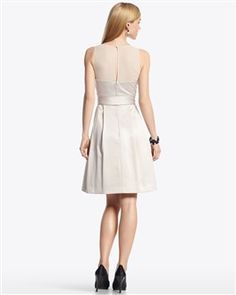 i like the back of this dress...but probably won't have too many places to wear it.