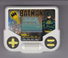 1988 Tiger Electronics Batman Movie Vintage Hand Held Video Game #TigerElectronics