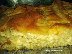 Betty's Cuisine: Τυρόπιτα αφράτη Greek Cooking, Cooking Time, Cooking Recipes, Greek Pastries, Crockpot, Greek Dishes, Sandwiches, Chicken Parmesan Recipes, Greek Recipes