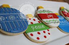 christmas ornament cookies royal icing