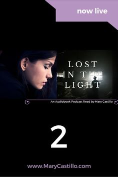 Listen to the audio book podcast of Lost in the Light:  One October morning in 1932, Vicente Sorolla entered the white house on the hill and was never seen again. Now, Detective Dori Orihuela witnesses his brutal murder in her nightmares.