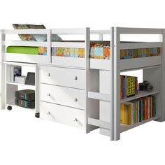 Found it at Wayfair - Twin Low Loft Bed with Storage