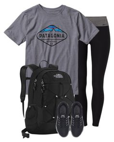 """"""""""" by mpickett17 on Polyvore featuring NIKE, Patagonia and The North Face"""