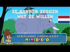 Ze Kunnen Zeggen Wat Ze Willen   Kinderliedjes   Liedjes voor peuters en kleuters   Minidisco - YouTube