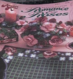 PLASTIC CANVAS ANNIE'S ROMANCE & ROSES PATTERNS romanc, canva pattern, rose pattern, plastic canva