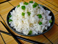 Savory Coconut Rice--also read 3rd post from anonymous....interesting soak and rinse cooking method.  Looks very interesting.