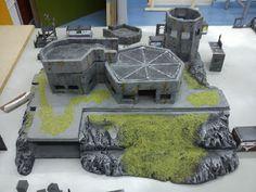 Game Terrain, 40k Terrain, Wargaming Terrain, Warhammer Terrain, Warhammer 40k, Fallout 4 Settlement Ideas, Sci Fi Miniatures, Snow Forest, Jurassic Park World