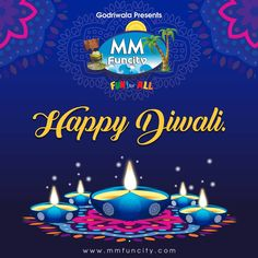 #DiwaliCelebration Wishing you and your family a Diwali that's full of crackling fun and sparkling happiness. Happy Diwali. #MMFuncity