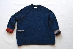 Primoeza New Pocket Sweater Ocean