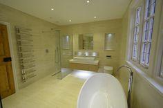 Luxury bathroom builders Kensington, London | www.knoetze.co.uk