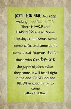 I love Elder Holland!