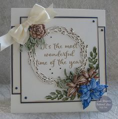Hello everyone, Well hope your ready for some Christmas samples.my first for 2019 .Tattered Lace Over The Mantel. Glitter Cards, Pink Glitter, Create And Craft Tv, Stepper Cards, Tattered Lace Cards, Christmas Sentiments, Iris Folding, Card Making Inspiration, Hello Everyone