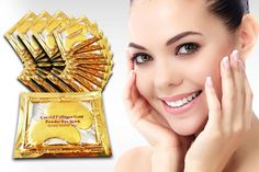 instead of (from Forever Cosmetics) for a set of 40 'crystal' gold collagen eye masks - treat your peepers and save Forever Cosmetics, Under Eye Wrinkles, Cosmetic Sets, Peel Off Mask, Milk And Honey, Look In The Mirror, Portsmouth, Natural Medicine